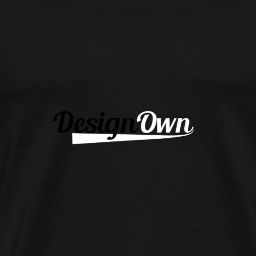 DesignOwn Logo S/W - Männer Premium T-Shirt