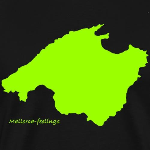 mallorca-feelings grün - Männer Premium T-Shirt