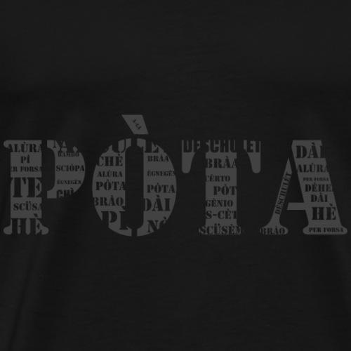Pòta - Maglietta Premium da uomo