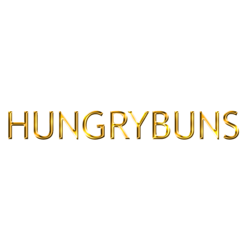 'HUNGRYBUNS' in gold - Men's Premium T-Shirt