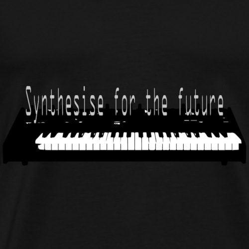 Synthesise for the future - Men's Premium T-Shirt