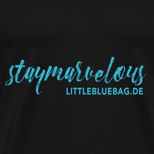 staymarvelous hellblau / türkis - Männer Premium T-Shirt