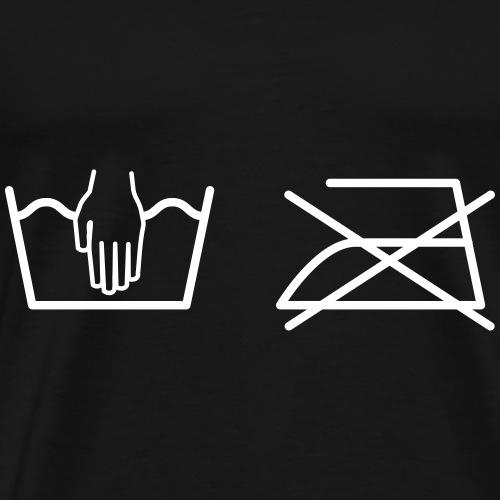 Ironing - Mannen Premium T-shirt