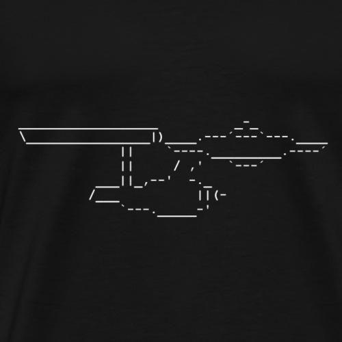 NCC-1701 weiß - Männer Premium T-Shirt