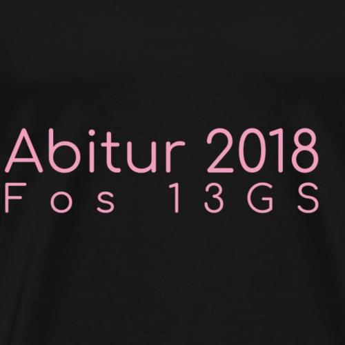 abishirt front - Männer Premium T-Shirt