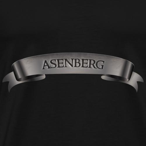 Asenberg Schrift - Männer Premium T-Shirt