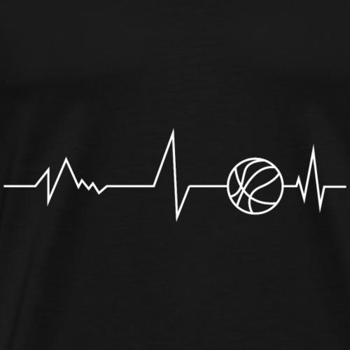 Basket vie - T-shirt Premium Homme