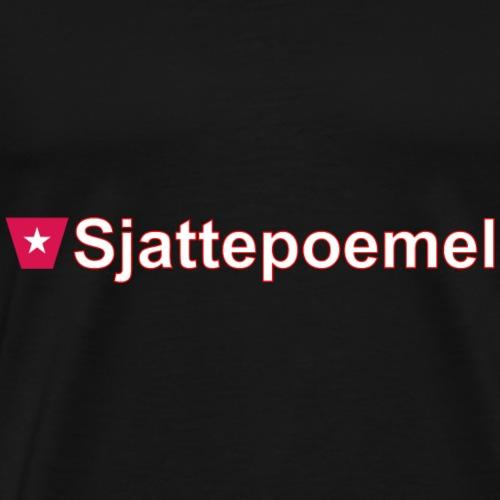 Sjattepoemel ms hori w - Mannen Premium T-shirt