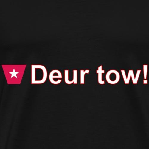 Deur tow def ms hori w - Mannen Premium T-shirt