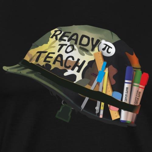 Ready to teach Maths - T-shirt Premium Homme