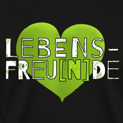 Lebensfre[u]nde - Männer Premium T-Shirt