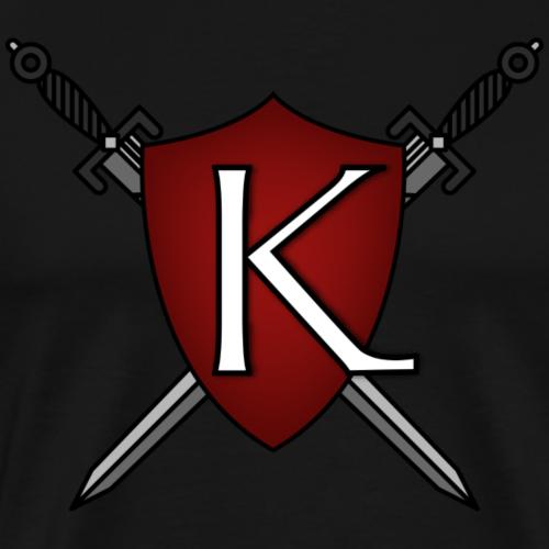 KingdomGame Shield Logo - Men's Premium T-Shirt