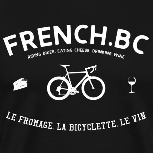 French Bicycle Club - Französicher Fahrradclub - Männer Premium T-Shirt