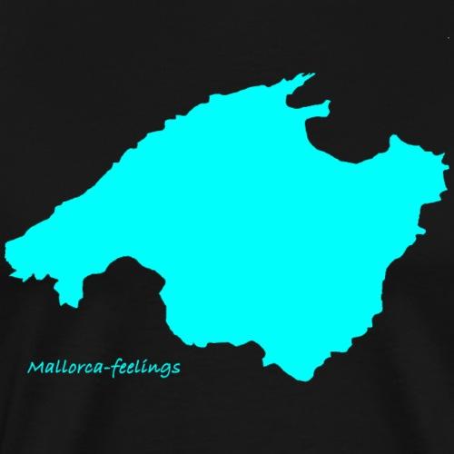 mallorca-fellings türkis - Männer Premium T-Shirt