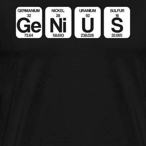 Ge Ni U S - Genie - Männer Premium T-Shirt