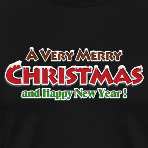 Merry Christmas Red - T-shirt Premium Homme