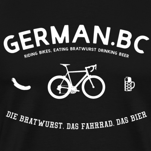 German Bicycle Club - Der deutsche Fahrradclub - Männer Premium T-Shirt