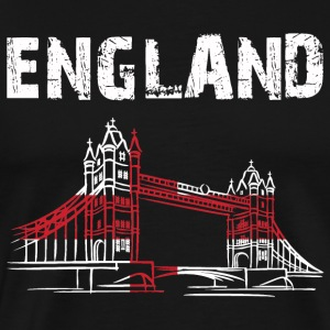 Nation-Design Angleterre Tower Bridge - T-shirt Premium Homme