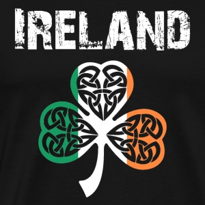 Nation-Design Irland 02 - Premium T-skjorte for menn