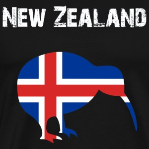Nation-design New Zealand - Men's Premium T-Shirt