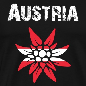 Country-Design Austria Edelweiss - Men's Premium T-Shirt