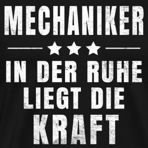 Mechanische T-shirt - Mannen Premium T-shirt