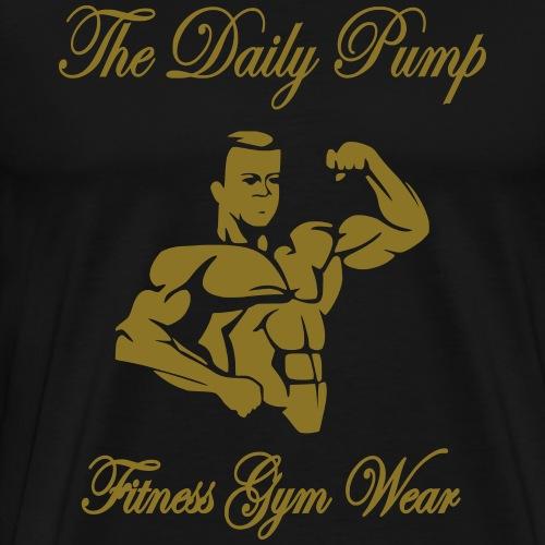 The Daily Pump Bodybuilder - Männer Premium T-Shirt