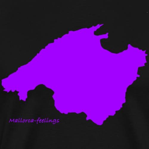 mallorca-feelings lila - Männer Premium T-Shirt