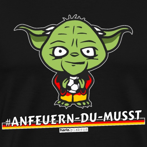 HARIZ.PIXBROS #Anfeuern Du Musst - Männer Premium T-Shirt