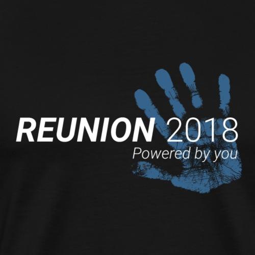 Reunion 2018 (für dunklen Hintergrund) - Männer Premium T-Shirt