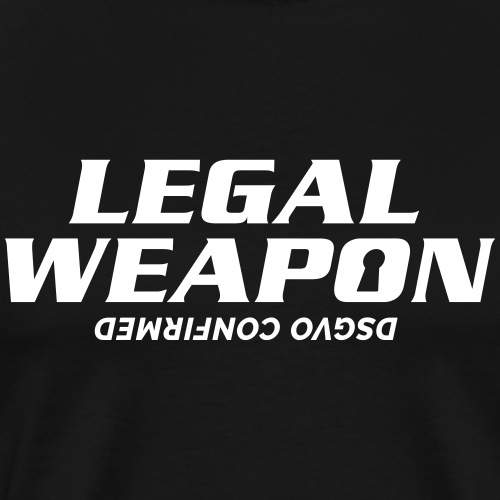 Legal Weapon - Männer Premium T-Shirt