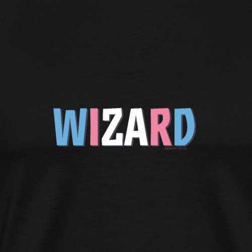 Wizard Pride (Trans) - Men's Premium T-Shirt