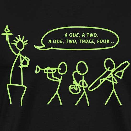Bigband in New York - Männer Premium T-Shirt