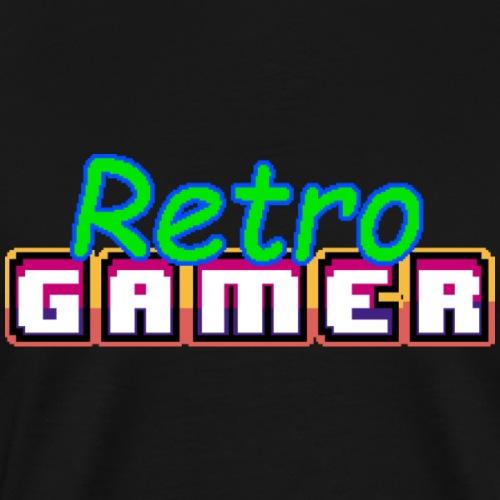 Retro Gamer - Männer Premium T-Shirt