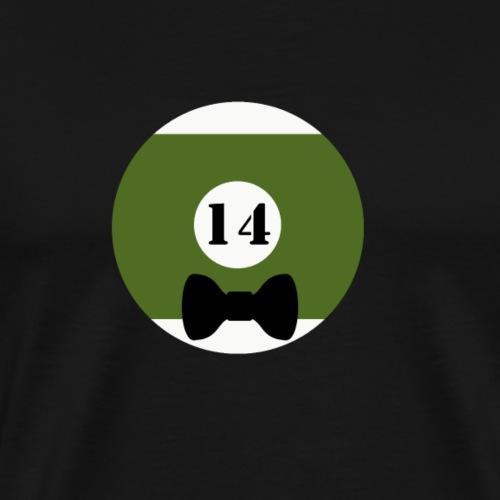 Billard Vierzehn Junggesellenabschied JGA - Männer Premium T-Shirt