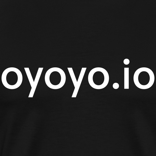 webadresse - Männer Premium T-Shirt