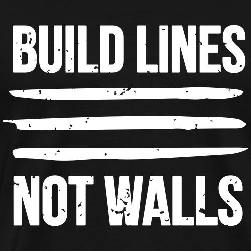 Build Lines - Men's Premium T-Shirt
