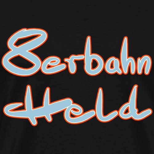 8bahnheld 3farbig - Männer Premium T-Shirt