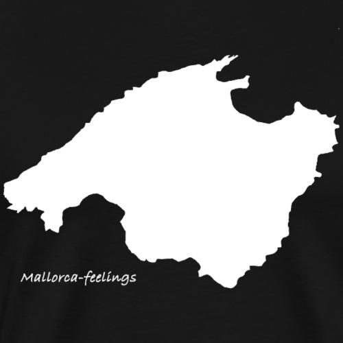 mallorca-feelings weiß - Männer Premium T-Shirt
