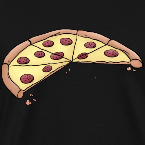 Pizza for parents-baby-partnerlook with 3 children - Men's Premium T-Shirt