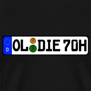 Oldie 70 years history - Men's Premium T-Shirt