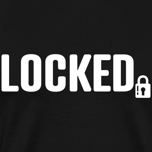 locked - Männer Premium T-Shirt
