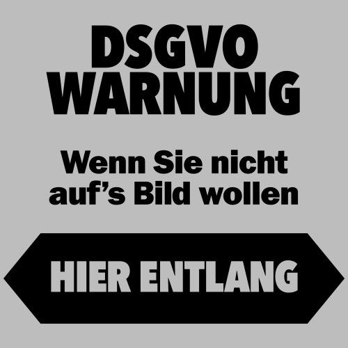 DSGVO-Foto schwarz VORNE - Männer Premium T-Shirt
