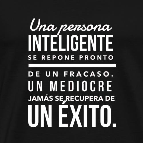 CITA SOBRE INTELIGENCIA - Camiseta premium hombre