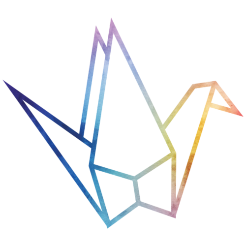 Schwan   Ente Vogel Origami - Männer Premium T-Shirt