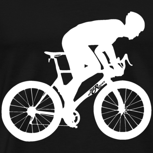 silhouette - weiss - Männer Premium T-Shirt