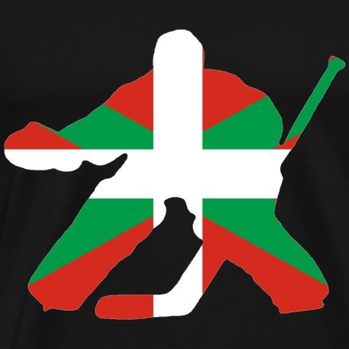 goalie et basque - T-shirt Premium Homme