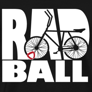 Radball | Typo - Männer Premium T-Shirt