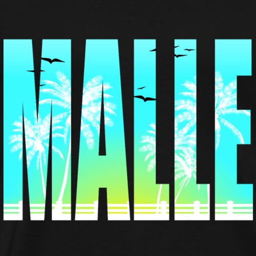 Mallorca Malle 18 / Urlaub / Sommershirt - Männer Premium T-Shirt