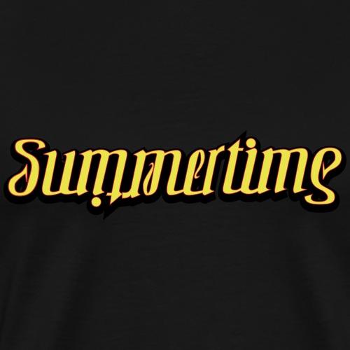 summertime - Herre premium T-shirt